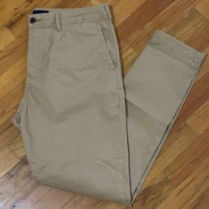 American Eagle Men's Skinny Khaki Pants 34x32